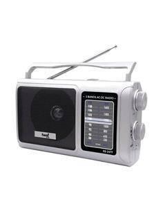 SAMI Radio Analogica 2 Bandas XL Plata RS-2977