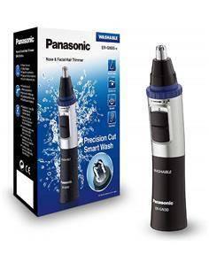 PANASONIC ER-GN30-K Corta Pelos Para Nariz, Oido, Cejas y Barba. Lavable