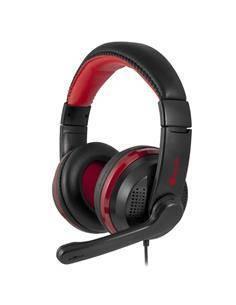 NGS Microfono Gaming Usb Con Modo Silencioso VOX700USB Negro/Rojo