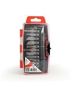 GEMBIRD Set De Cuchillas De Precision 16 Piezas TK-NS-01