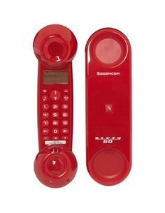 SAGEMCOM SIXTY GO Telefono Inalambrico Digital Rojo