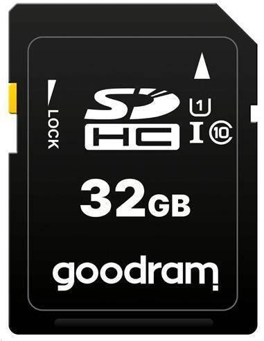 GOOD RAM Tarjeta Memoria SDHC 32Gb Clase 10 UHS-I V10 100MB/s