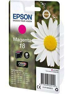 EPSON Tinta 18 Magenta Para XP-30, XP-102, XP-305, XP-402