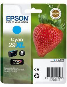EPSON Tinta 29XL Cyan para XP-235, XP-332, XP-335, XP-432, XP-435