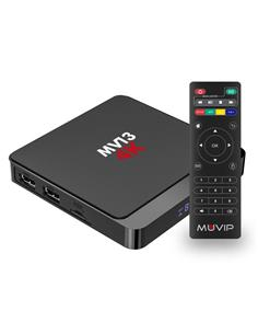 MUVIP Mini PC Smart TV Box MV13 4K,WIFI, Android v10,Quad Core,16+ 2Gb Ram MV0286