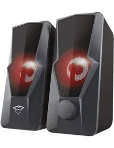 TRUST Altavoces Gaming Argus 20W Con Lucez y Control de Volumen Negro