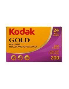KODAK Carrete Pelicula Para Fotos 24 Exp GOLD