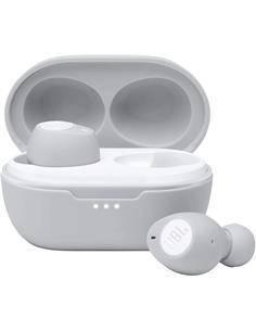 JBL Auricular Bluetooth TUNE 115 TWS Blanco Manos Libres Con  Estuche de Carga Pure Bass