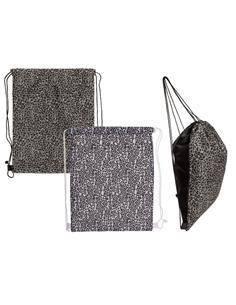Bolsa Fashion Diseño Leopardo Con Asa Negra 42x34cm 230108