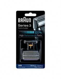 BRAUN Repuesto Combi Hojilla y Cuchilla Flex Integral 31S Series 3