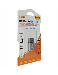 LINQ Adaptador Tipo-C/H a USB/M TPC3024