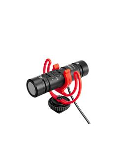 BOYA Microfono Dobre Condensador Compacto Para Youtuber, Blogs BY-MM1 Pro 3.5mm TRRS