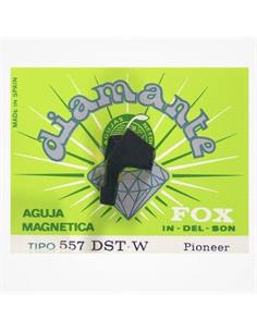 FOX 557-DST-W Aguja Diamante Magnetica