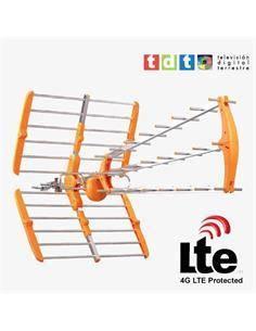 SMT82LTE Antena Digital TV Profesional UHF Full Hd Con Filtro Lte