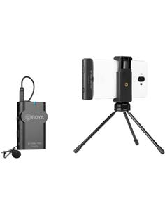 BOYA Microfono Inalambrico Para Android Tipo C Transmisor/Receptor Con Micro De Solapa BY-WM4 Pro-K5