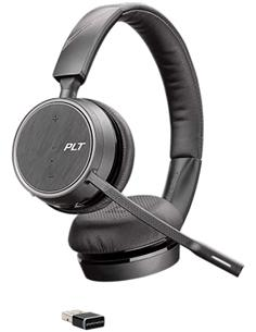 PLANTRONICS Auricular Estereo Bluetooth VOYAGER 4220 UC USB A con Dongle USB para PC/Mac
