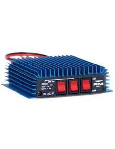 RM Amplificador Lineal KL 2013P Para HF100WAM FM Y 200W SSB CB 27Mhz