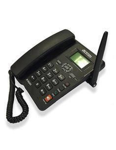 JETFON Telefono GSM X-500 De Sobremesa Inalambrico, Uso Libre SIM.850/900/1800/900 Mhz
