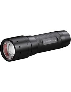 LED LENSER Linterna P7 CORE 450 Lumenes,300Mtrs,Resistente al Agua IP54,4 Pilas AAA