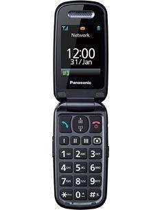 PANASONIC Telefono Movil De Tapa Con SOS KX-TU456 Exce Azul
