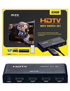 MTK Switch HDMI 3 Entradas 1 Salida 4K K3400