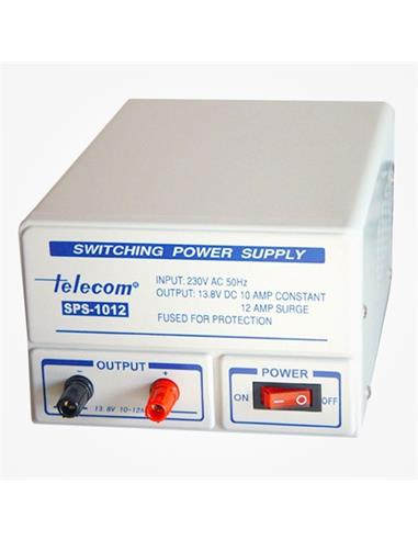 TELECOM Fuente Alimentacion Conmutada SPS-1012 10-12AMP