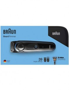 BRAUN Afeitadora BT3940 Con Accesorios+ Gillete de Regalo+Neceser de Viaje