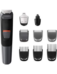 PHILIPS Afeitadora Barba + Cortapelo Recargable Multigroom Series 5000 MG5720/18 ,Resistente al Agua