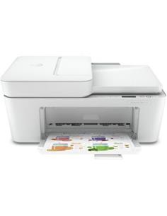 HP Impresora Multifuncion Con Impresion, Escaner, Fotocopias Deskjet Plus 4120 Blanco