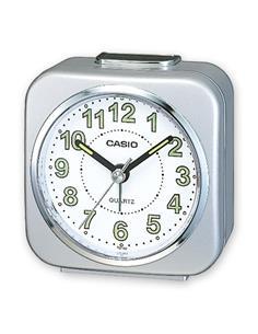 CASIO Reloj Despertador TQ-143S Plata