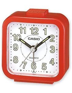 CASIO Reloj Despertador TQ-141 Rojo