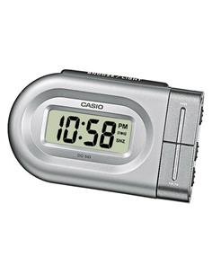 CASIO Reloj Despertador Digital DQ-543-8 Plata