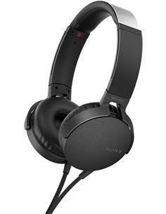 SONY Auricular De Casco Con Microfono MDR-XB550AP Negro