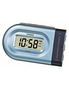 CASIO Reloj Despertador Digital DQ-543-2 Azul