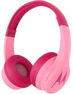 MOTOROLA Auricular De Casco Bluetooth Para Niños SQUADS 300 Rosa