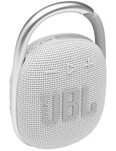 JBL Altavoz Portatil Bluetooth CLIP 4 Blanco IP67