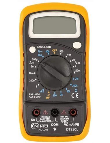 Multitester Digital MAS850L/MUL1001
