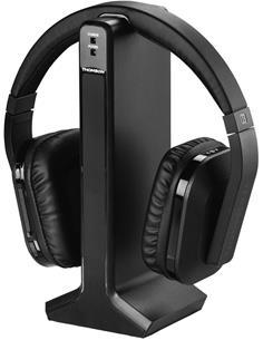 THOMSON Auriculares Estereo Inalambrico RF WHP5327 Negro 100Mtrs, Control Volumen
