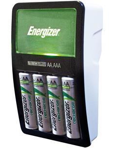 ENERGIZER Cargador de Pilas Ni-Mh AA/AAA + 4 Pilas AA Recargable 2000mAh MAXI