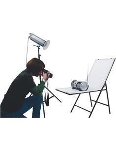 KONIG Mesa De Fotografia KN-STUDIO50 50X120CM, Plexiglass Blanca, Antirreflectante