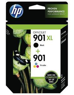 HP Pack Tinta 901XL Negro+901 Color