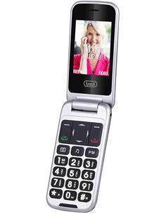 TREVI Telefono Movil Basico Con Tapa Flex 100 3G Negro