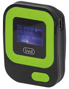 TREVI MPV 1705 SR Reproductor MP3 con Radio FM, Tarjeta Micro SD 8GB con Auriculares Verde