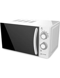GRUNKEL Microondas 700W, 20L, Grill, Temporizador, Descongelacion Blanco MWG-20SG