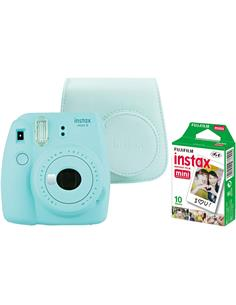 FUJIFILM Kit Camara Instax Mini 11 Azul Cielo+ 20 Hojas