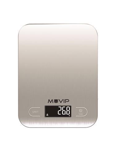 MUVIP Bascula De Cocina 5Kg Con Bluetooth MV0290