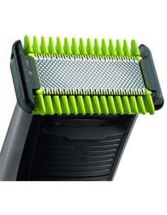 PHILIPS Maquina Afeitadora y Perfiladora de Barba  Seco y Mojado One Blade QP2520/25