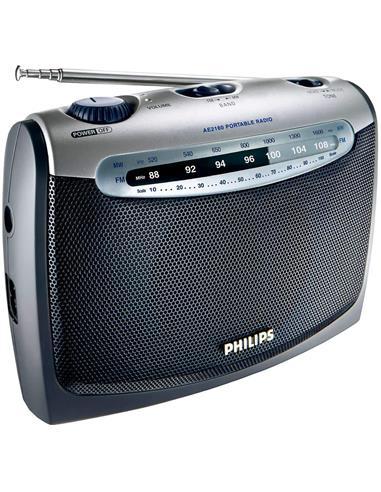 PHILIPS Radio Portatil FM/MW AE2160