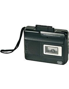 TREVI Grabadora De Cassette CR410 Con Microfono Incorporado Y VOX CONTROL.