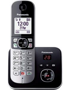 PANASONIC Telefono Inalambrico KX-TG6861  Con Tecla De Bloqueo Gris/Negro